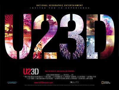 U2 3D poster film