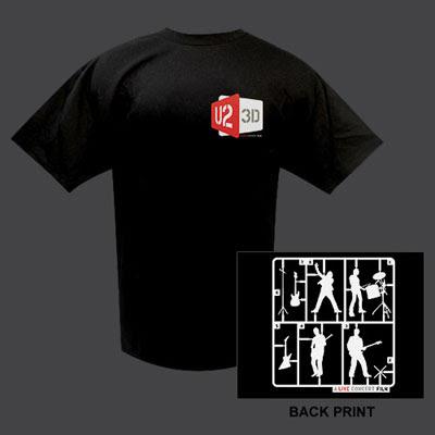 U2 3D Camiseta