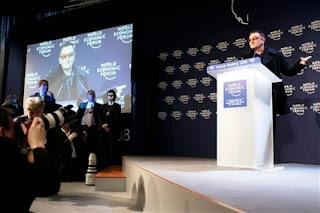 Bono Davos conferencia 2008
