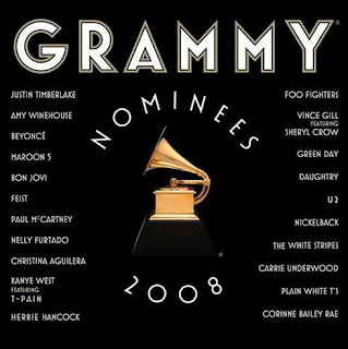 CD Grammy nominados 2008