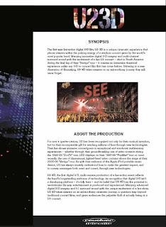 U2 3d Press UK 3