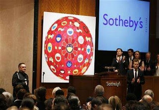 Bono Sotheby's Red auction
