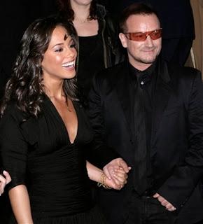 Alicia Keys y Bono