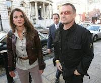 Bono y la Reina de Jordania, Rania