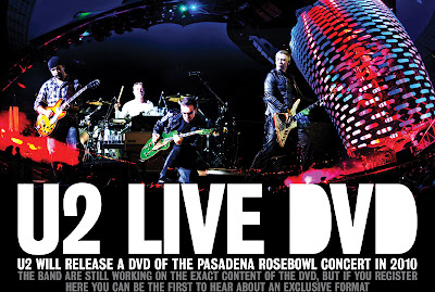U2 DVD live Pasadena