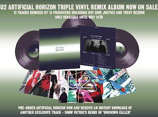 U2 artifical Horizon web