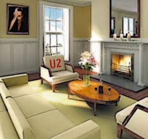 Hotel Clarence Dublin: Habitacion de U2