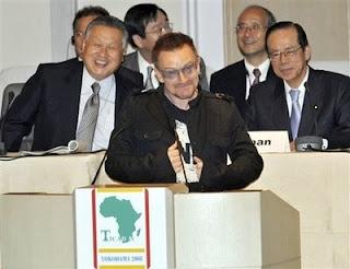 Bono en Japon contra la pobreza: TICAD