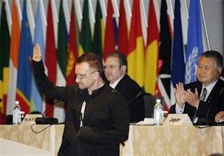 Bono en Japon: Charla en la TICAD