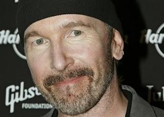 The Edge llegando a la subasta Icons of Music