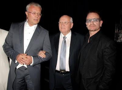Bono y MIKHAIL GORBACHEV
