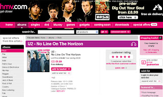 No Line On The Horizon en hmv.com