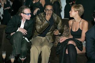 Bono y Spike Lee