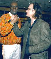 Bono y Allen Balley