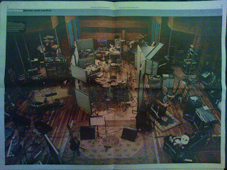 U2 Olympic Studios Londres