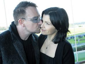 Bono and family en las carreras de Leopardstown 2008