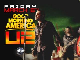 U2 en Good Morning America