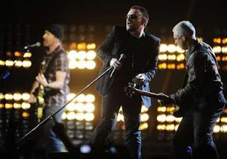 U2 Brit awards 2009 4