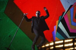 U2 Brit awards 2009 2