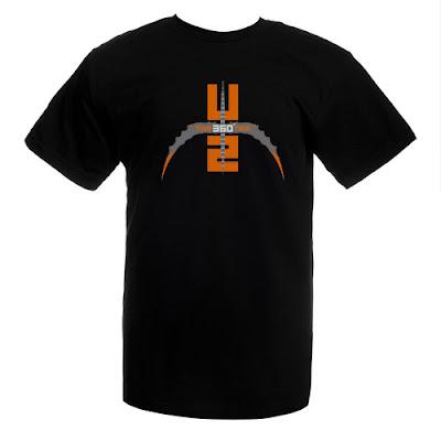 Camiseta U2 360 Tour