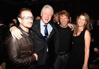 Bono en la fiesta de Vanity Fair, Tribeca Film Festival 2009 1