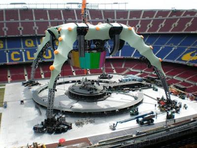 u2 escenario Camp Nou