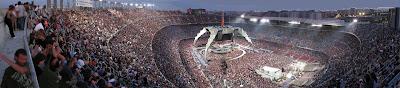 Foto panoramica U2 360 Tour Camp Nou 30 de junio de 2009