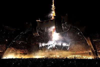 Foto Barcelona U2 360 Tour. Escenario