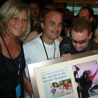 U2 360 Tour Special Olympics
