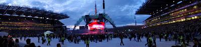 Panoramica Oscar. U2 360 Tour en Dublin, Croke Park, 24 julio 2009