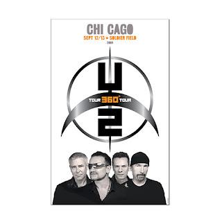 U2 360 Tour poster