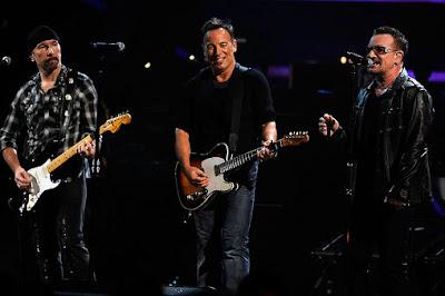 U2 y Bruce Springsteen
