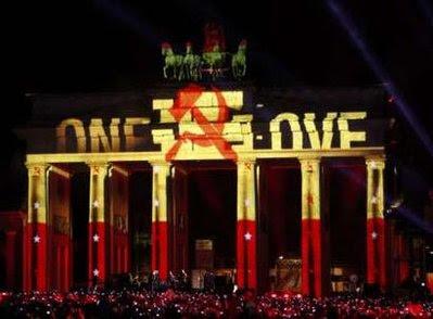 Concierto U2 en la puerta Brandeburgo, Berlin