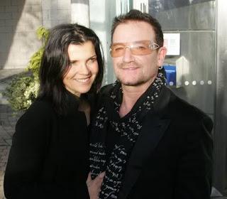 Bono y Ali en Leopardstown 2009