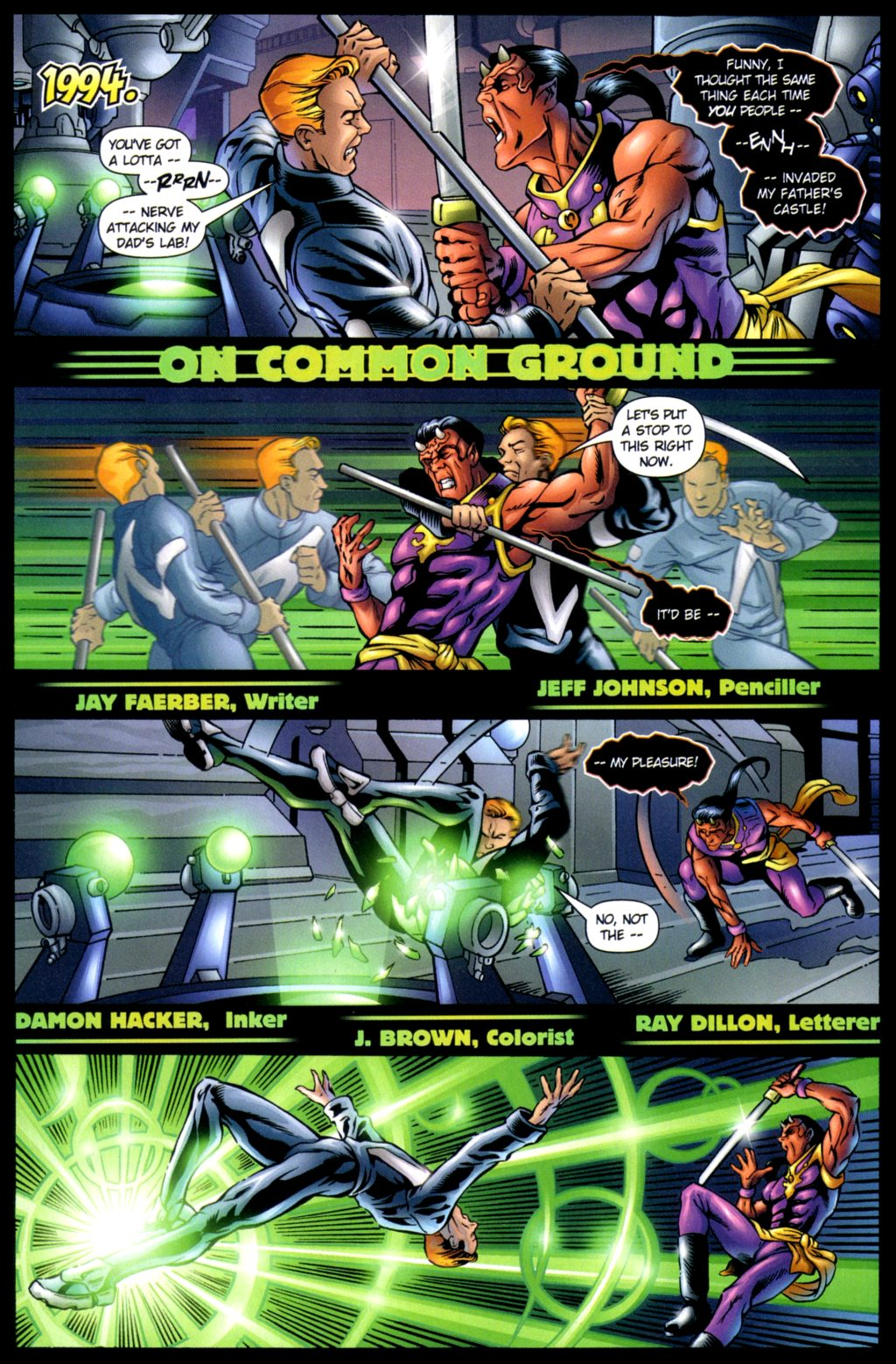 Read online Noble Causes (2002) comic -  Issue #3 - 18