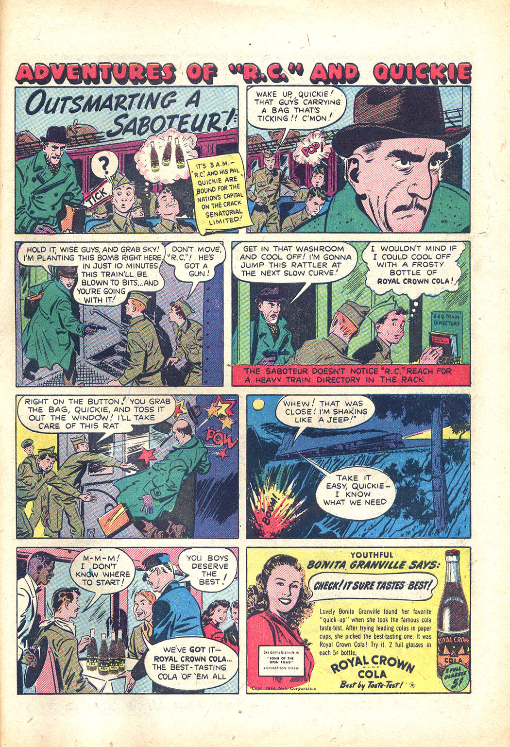 Read online Sensation (Mystery) Comics comic -  Issue #34 - 39