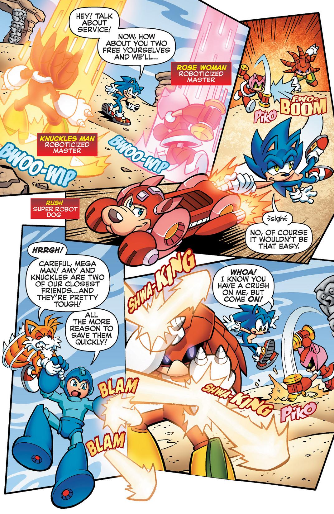 Read online Sonic Mega Man Worlds Collide comic -  Issue # Vol 2 - 89