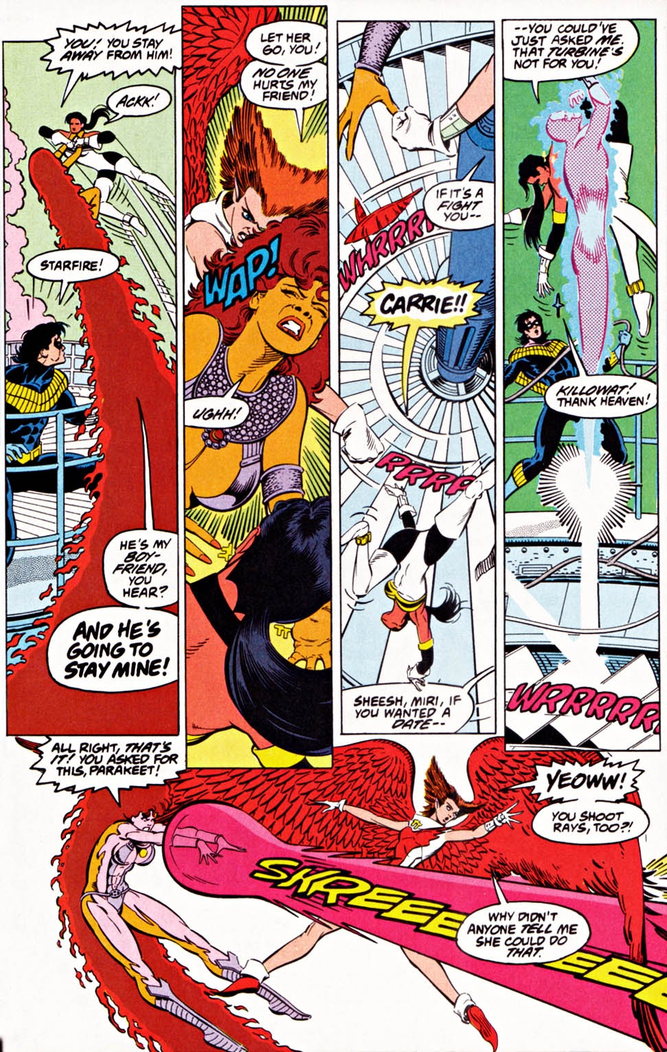Read online Team Titans comic -  Issue #1e - 24