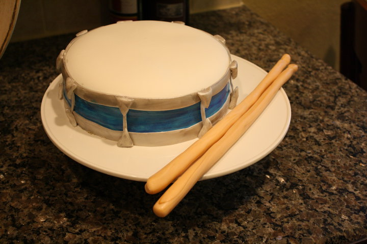 Brilliant Snare Drum Birthday Cake In A Hurry Life Cake Whimsy Personalised Birthday Cards Veneteletsinfo