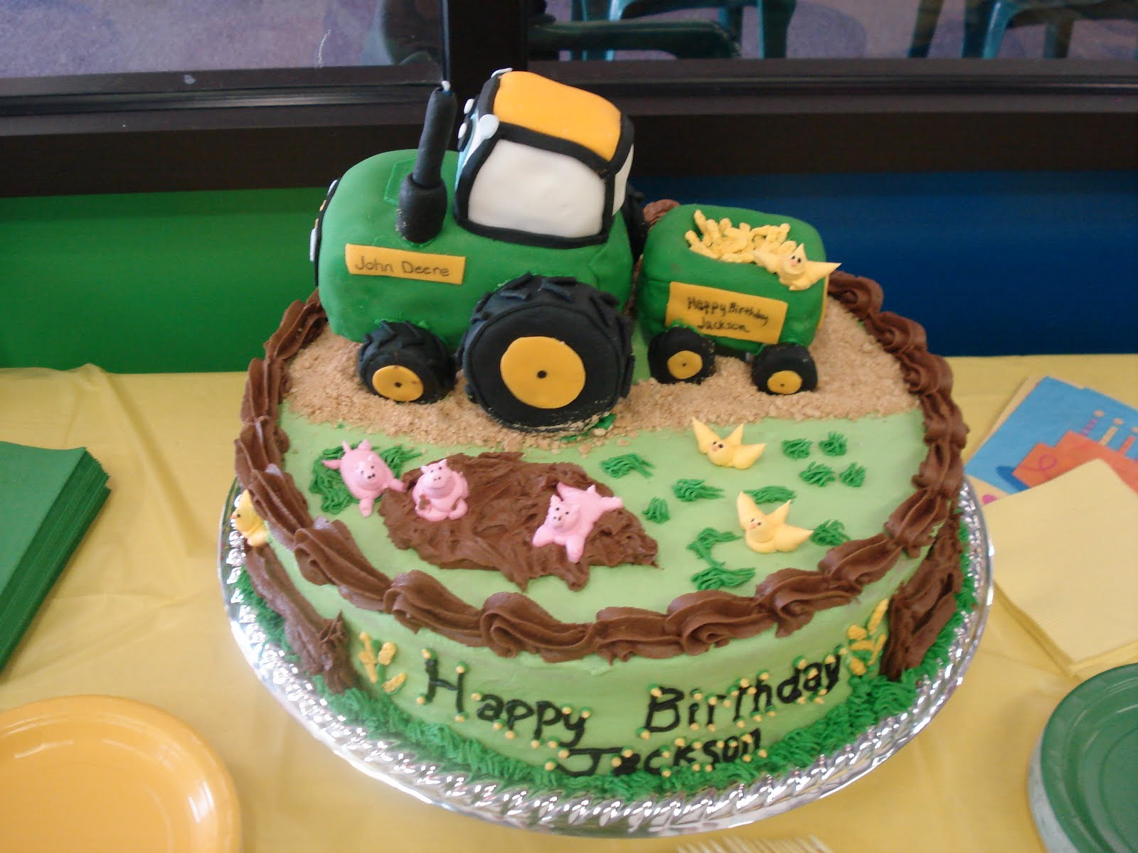 Strange Farm Themed Birthday Party Life Cake Whimsy Funny Birthday Cards Online Sheoxdamsfinfo
