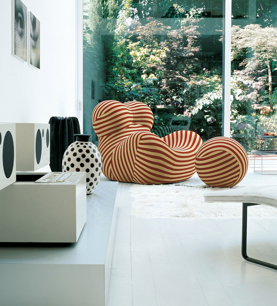 Modern design fanatic gaetano pesce for B b design