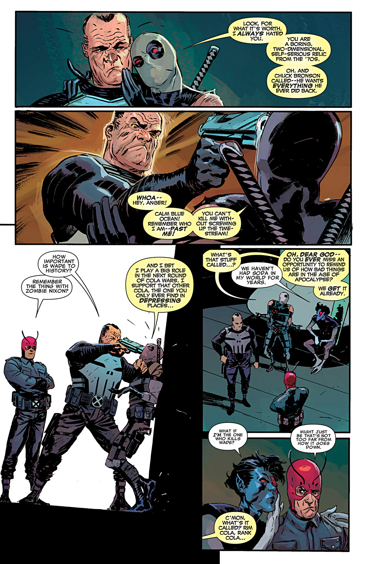 Read online Uncanny X-Force (2010) comic -  Issue #29 - 18