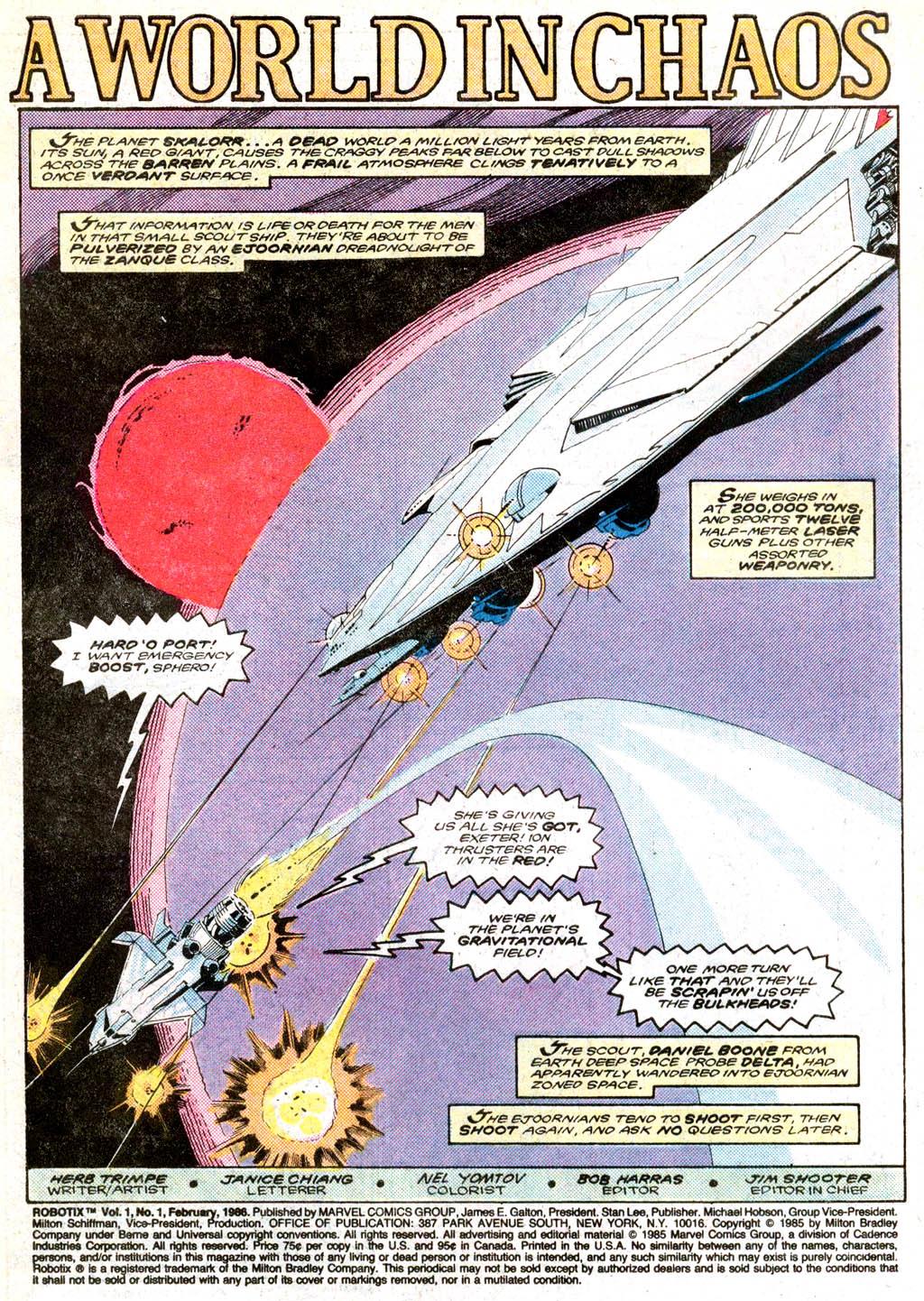 Read online Robotix comic -  Issue # Full - 2