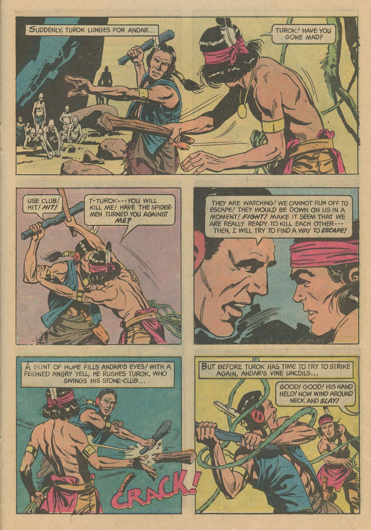 Read online Turok, Son of Stone comic -  Issue #128 - 25