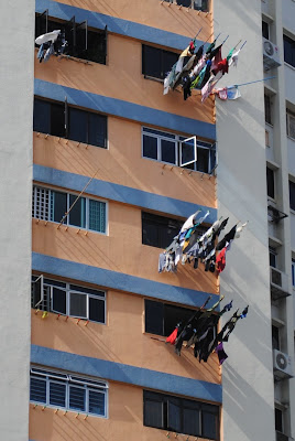 An American Girl In Singapore Hang Them Out To Dry