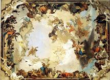 Cityzenart Tiepolo Ceiling Paintings