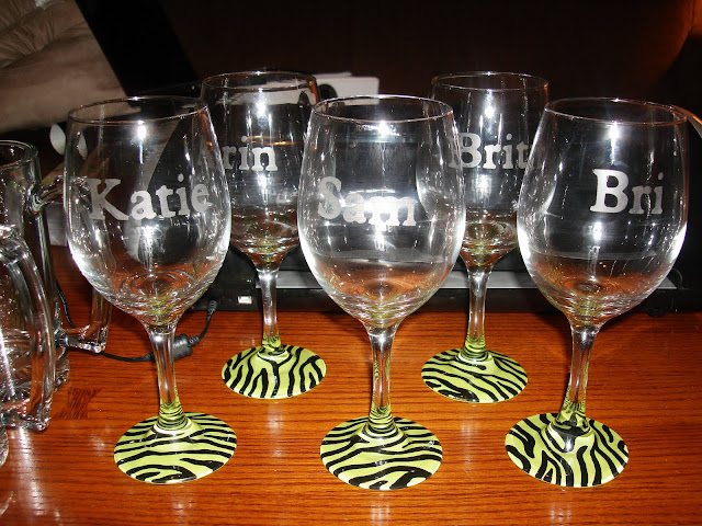 Happily After All Diy Wine Glasses And Beer Mugs