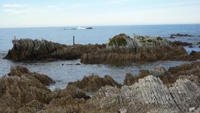 Podremos ver estas formaciones por toda la costa