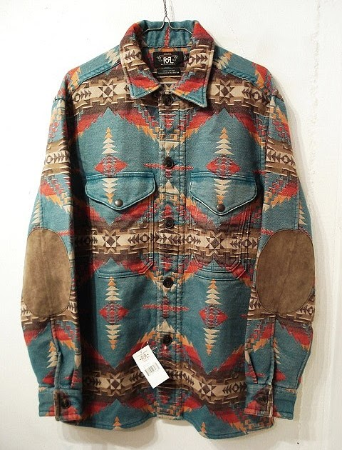 Www.tom Tailor Online Shop Nina De Coito: Rrl Indian Blanket Jacket