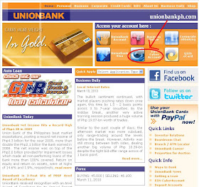 Earning Online Made Easy Applying For A Union Bank Eon Cyber Account